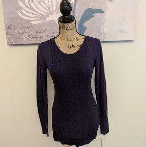 🤰♥️New*Purple maternity sweater